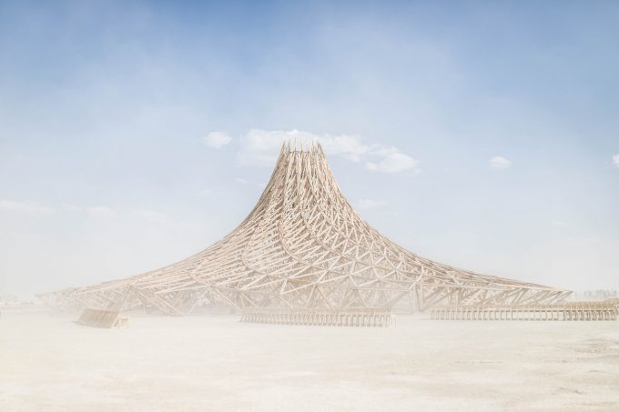 Central Temple Burning man 2018